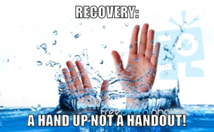Recovery A Hand Up
